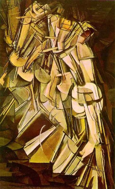 Nu descendant un escalier, Marcel Duchamp, 1912